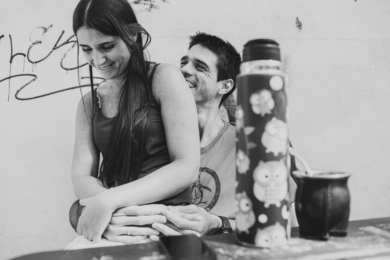 sesion de fotos moderna de pareja