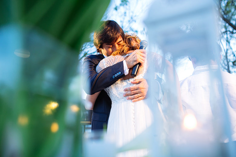 fotografia creativa de casamiento