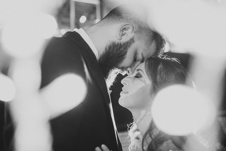 foto artistica de casamiento