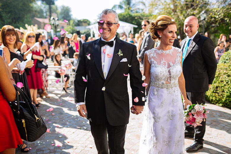ceremonia casamiento al aire libre