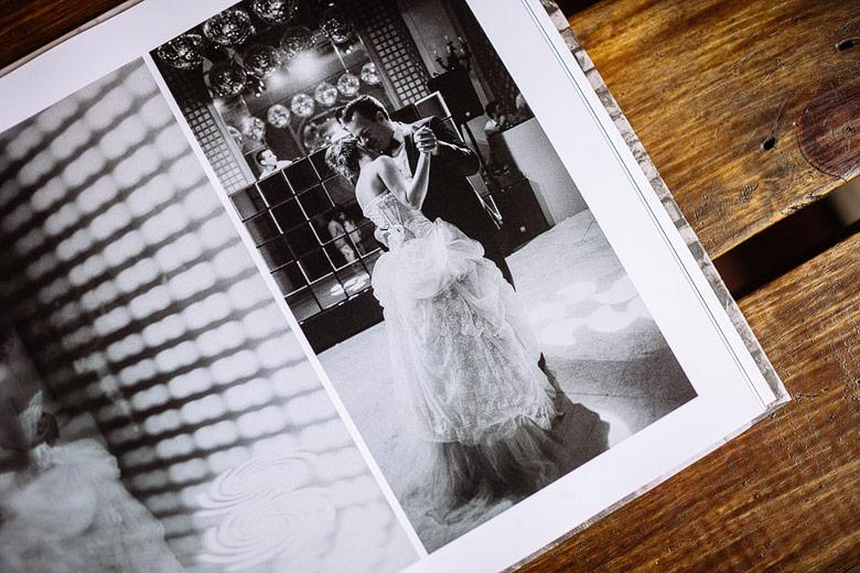album de casamiento moderno
