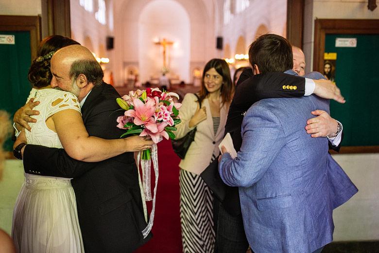 fotos de matrimonio espontaneas