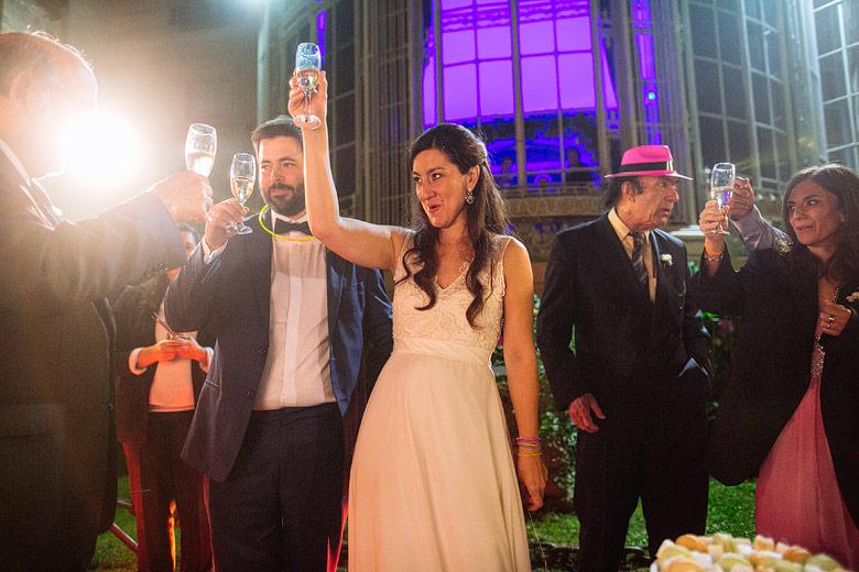 brindis en casamiento en el palacio sans souci