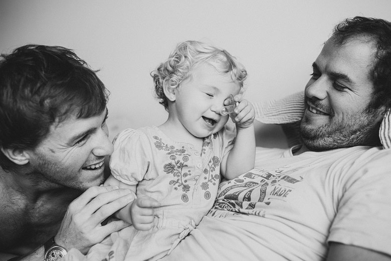 foto de familia espontanea