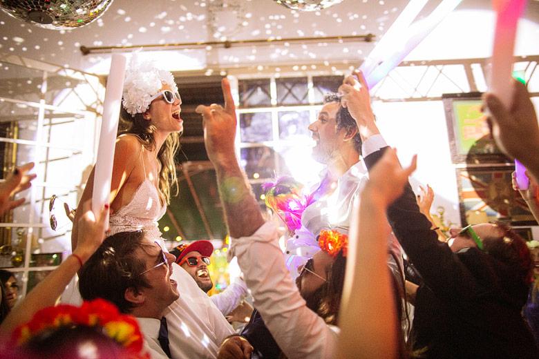 foto de fiesta de casamiento diferente