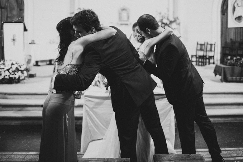 foto documental de casamiento colegio marin