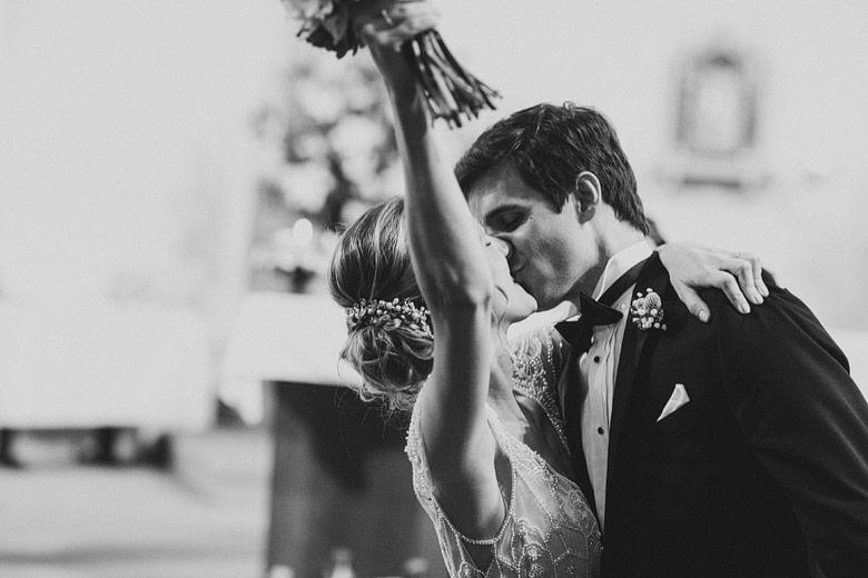 foto romantica de casamiento