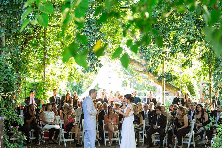 casamiento de dia en el domo de estancia santa elena