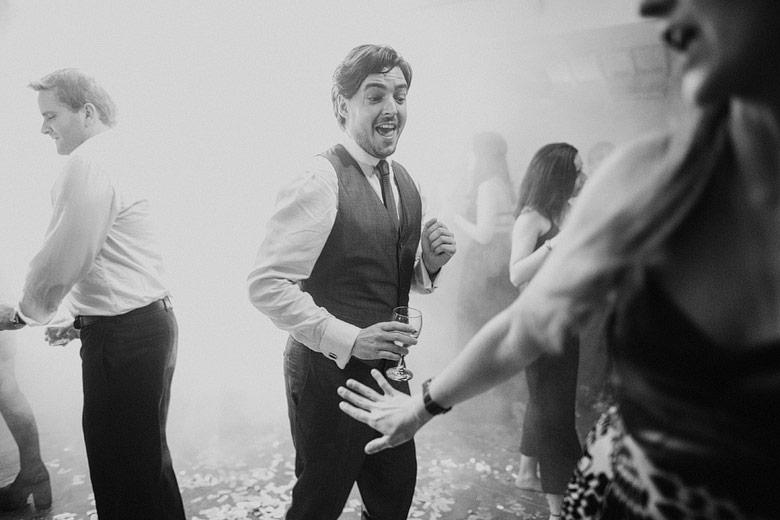 foto de boda documental