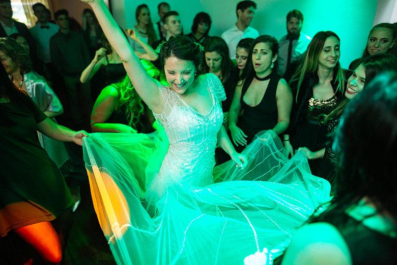 fotografia de casamientos sin flash
