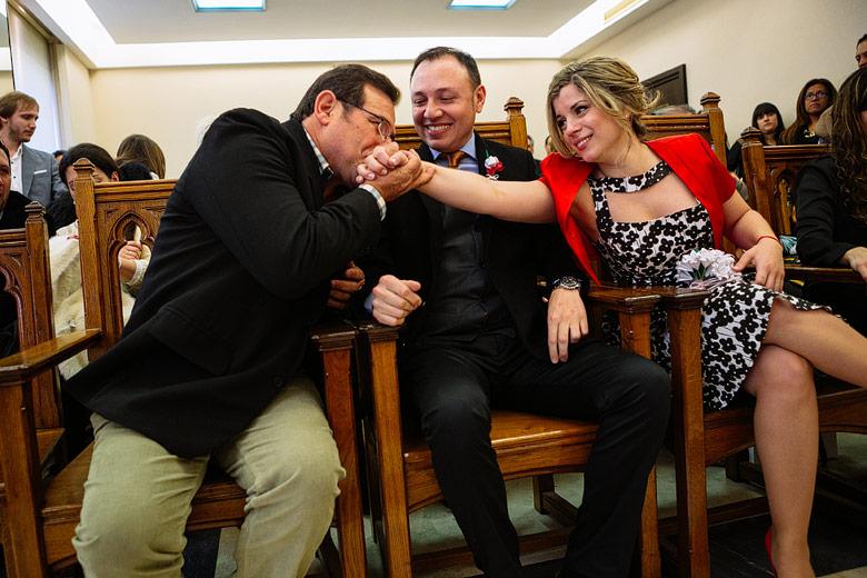 foto casual casamiento registro civil