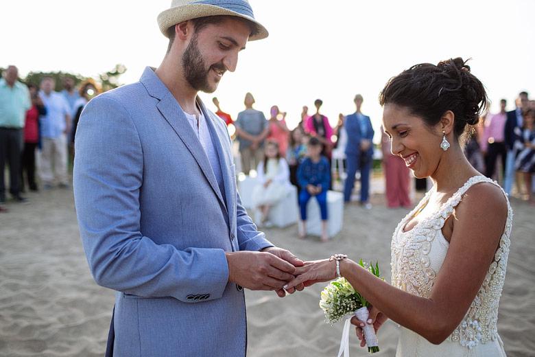 ceremonia casamiento en la playa