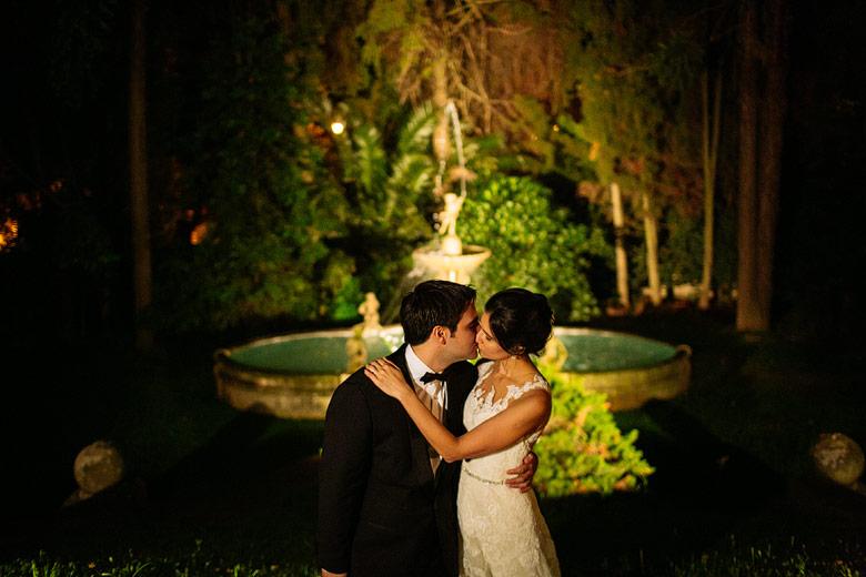 casamiento de noche palacio sans souci