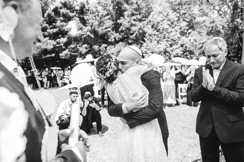 fotografia artistica de casamiento judio