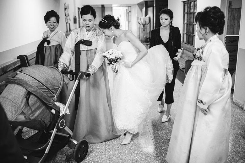 fotoperiodismo de bodas coreano
