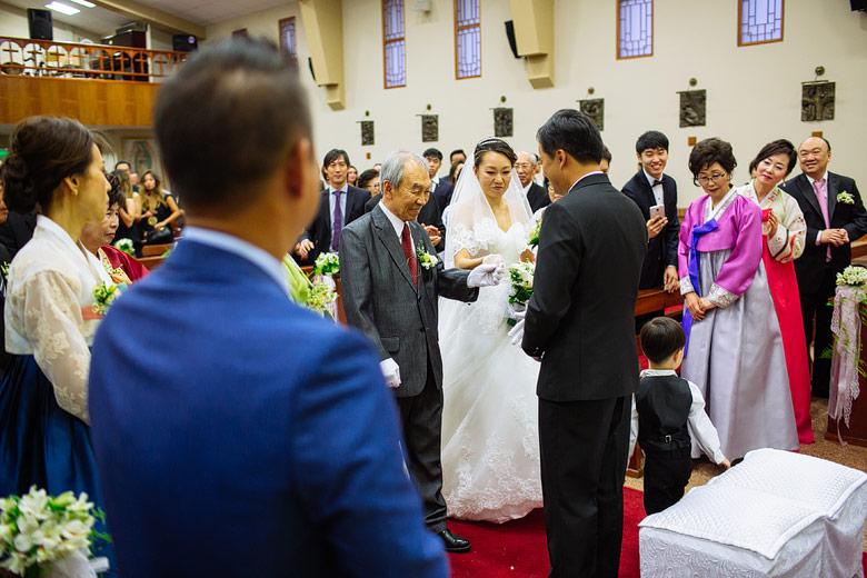 casamiento Iglesia Católica Santos Mártires Coreano