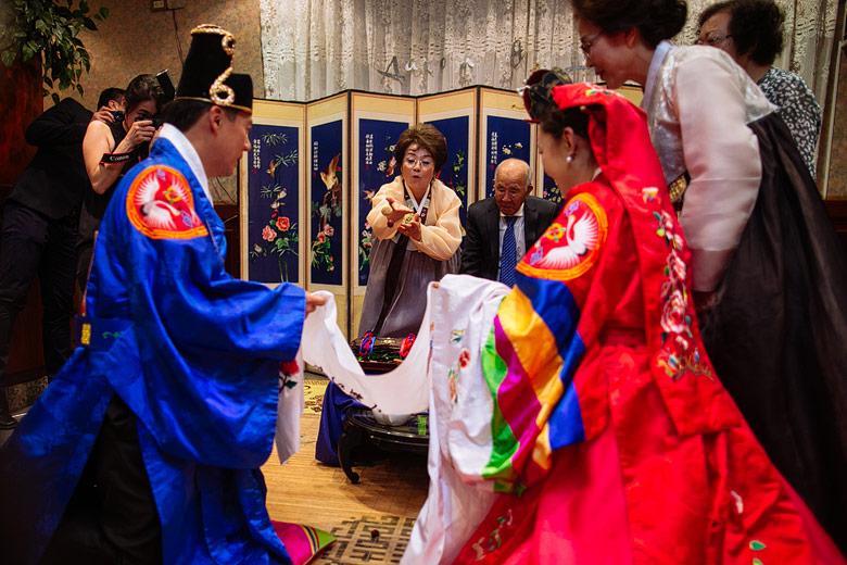 casamiento tradicional coreano