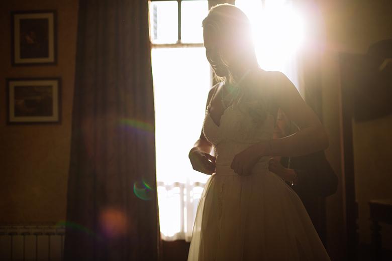 Vestido de novia por Estela Ballina