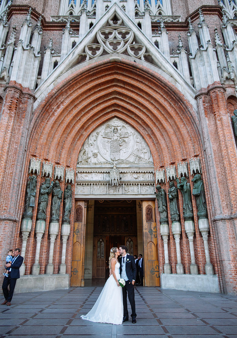 boda en la catedral de la plata