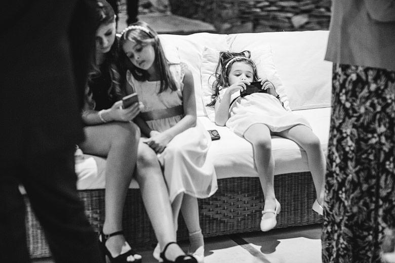 niños en bodas