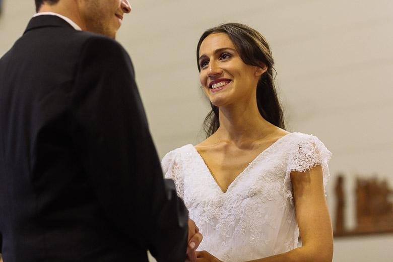 ceremonia casamiento en colegio marin
