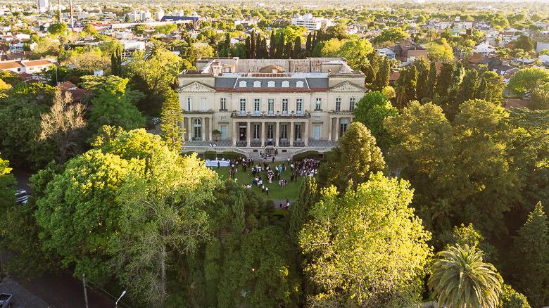 fotos aereas drone palacio sans souci