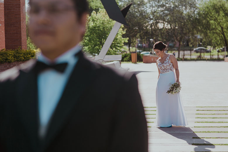 first look casamiento