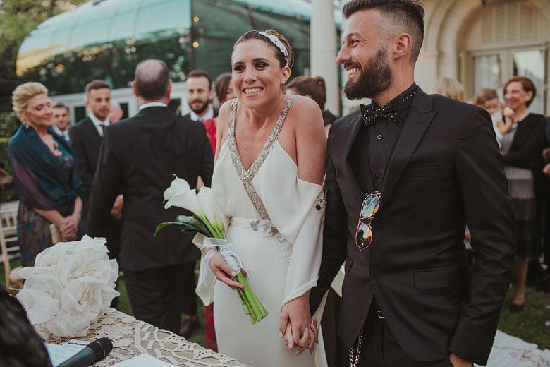 ceremonia boda al aire libre