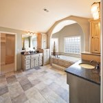 Aston EX master bath with arched opening