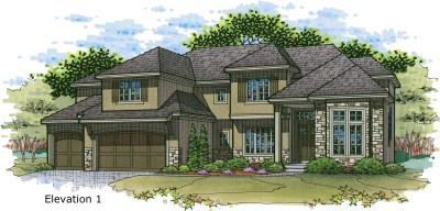 Chesapeake II elev. 1 color rendering
