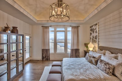 Master Bedroom in the Cimarron plan