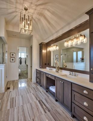 Master Bath Cabinets in the Cimarron