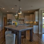 Hepton Kitchen Island with Granite Top