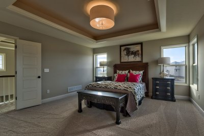 Irving Master Bedroom and ceiling treatment
