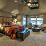 Lancaster III master bedroom with sitting area