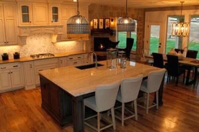 Larsen EX kitchen island