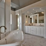 Raphael Master bath with marble floor