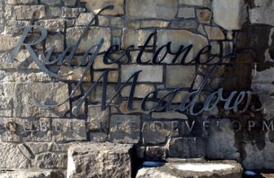 Ridgestone Meadows community monument
