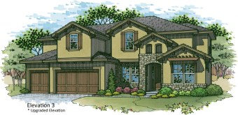 Roanoke Elevation 3 color rendering