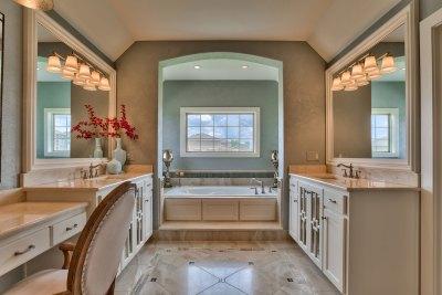 Somerset master bath vanities