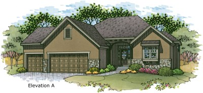 Sonoma elev. A color rendering