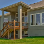 Summerlin EX rear elevation with covered deck