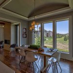 Summerlin EX breakfast area with barrel ceiling