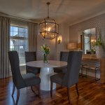 Summerlin EX dining room with hardwood floors