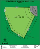 Summerwood Estates Lot 15 plat map
