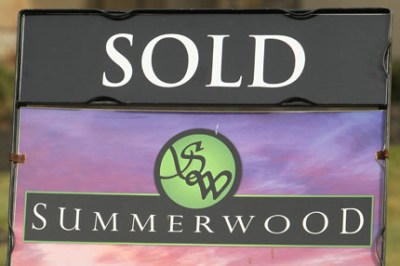 Summerwood yard sign with SOLD rider