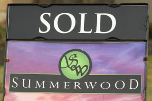 Summerwood Sold Sign