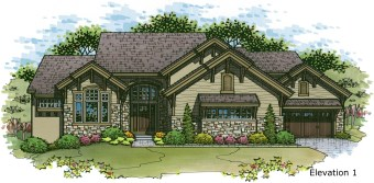 Telluride elevation 1 color rendering