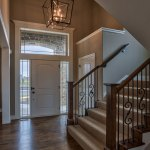 Wakefield entryway and stairs