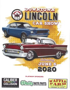 Rods and Relics Car show June 6, 2020 in Downtown Lincoln